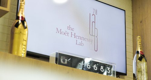 "MH Lab 78, Moët Hennessy's ""in house"" Lab"